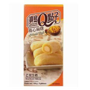 Taiwan Dessert  Mango milk mochi roll