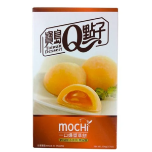 Taiwan Dessert Peach mochi cake