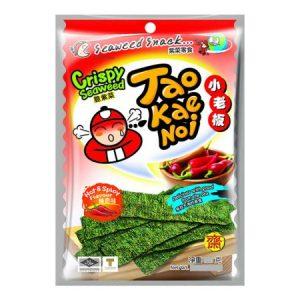 Tao Kae Noi Knapperige zeewiervellen heet en gekruid