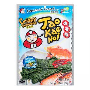 Tao Kae Noi Knapperige zeewiervellen zeevruchten smaak