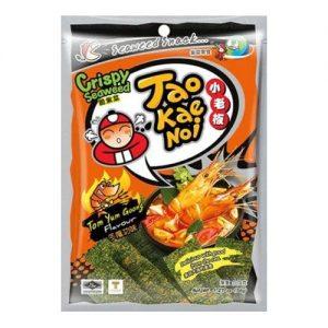 Tao Kae Noi Knapperige zeewiervellen tom yum smaak