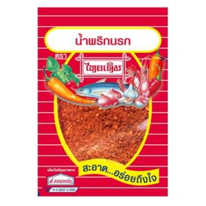 Thai Derm Fijngestampte vis & chili-pittig na rok