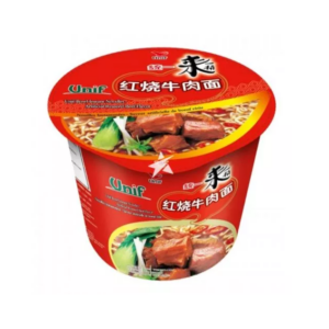Unif  Bowl noodles - artificial roasted beef flavour (统一来一桶 红烧牛肉面)