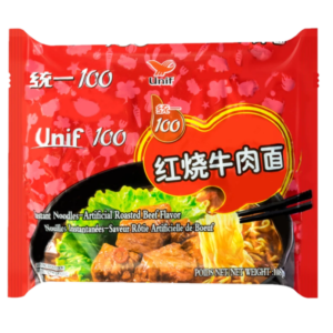 Unif Noodle roasted beef flavor (红烧牛肉面)