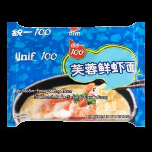 Unif Noodle furong shrimp flavor (芙蓉鲜虾面)