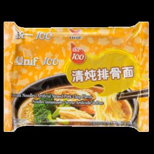 Unif Noodle stewed pork chop flavor (统一 清炖排骨面)