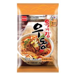 Wang Korea Udon soup hot flavor yukgaejang