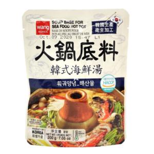 Wang Korea Soup base for seafood hot pot