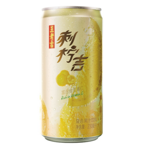 Wang Lao Ji Lemon & apple fruit drink