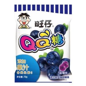 Want Want Gummy snoep blauwe bessen smaak
