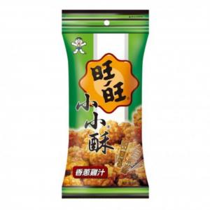 Want Want Mini gebakken rijstcrackers met kip/ui smaak