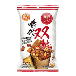 Want Want Spice & peanuts mix pack (旺旺 嚼代双挑 香酥椒+麻辣花生)
