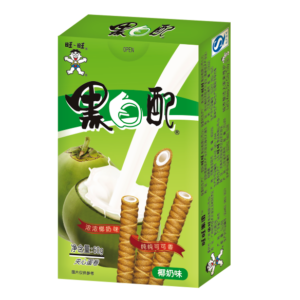 Want Want Wafer roll coconut milk flavor