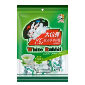 White Rabbit Matcha creamy candy (大白兔 奶糖 抹茶味)
