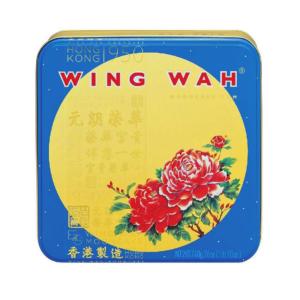 Wing Wah 榮華 雙黃白蓮蓉月餅 mooncake witte lotuspasta met 2 eigeel
