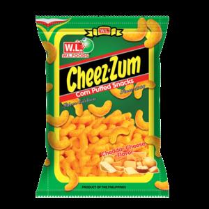 W.L. Foods Cheez zum snack cheddar kaas smaak
