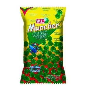 W.L. Foods Muncher green peas original flavor