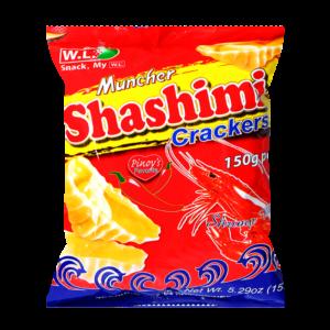 W.L. Foods Shashimi crackers garnaal smaak