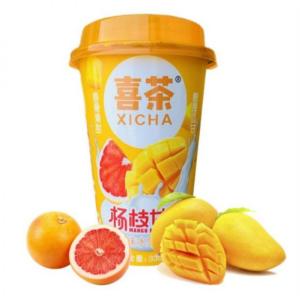 Xi Cha Mango pomelo sago dessert (喜茶 杨枝甘露)