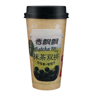 Xiang Piao Piao Bubble melkthee matcha smaak (香飘飘 抹茶双拼)