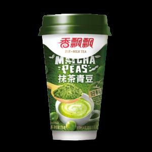 Xiang Piao Piao Melkthee matcha erwten smaak (香飘飘 抹茶青豆奶茶)