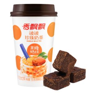 Xiang Piao Piao Black sugar bubble milk tea (香飘飘 波波珍珠奶茶 黑糖奶红)