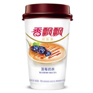 Xiang Piao Piao Melkthee blauwe bessen smaak (香飘飘 奶茶 蓝莓)