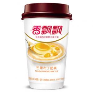 Xiang Piao Piao Melkthee mango pudding smaak (香飘飘 奶茶 芒果布丁味)