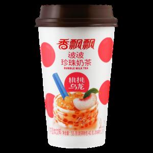 Xiang Piao Piao Peach oolong bubble milk tea (香飘飘 波波珍珠奶茶 桃桃乌龙)