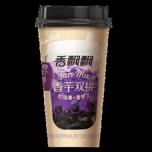 Xiang Piao Piao Boba tea taro mix (香飘飘 香芋双拼 珍珠奶茶)