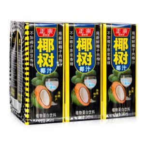 Ye Shu Coconut milk (椰樹 牌椰子汁)