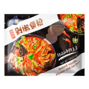 Yumei Noodle hunan chili fish flavor (与美 剁椒鱼粉)