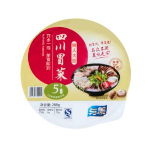 Yumei Sichuan instant groente fungus smaak