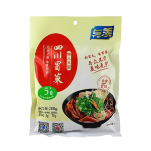 Yumei Sichuan groenten voor hot pot fungus smaak (与美 四川冒菜)